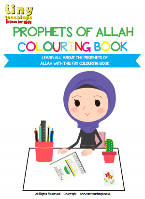 LEARN ALL ABOUT THE PROPHETS OF ALLAH WITH THIS FUN COLOURING BOOK