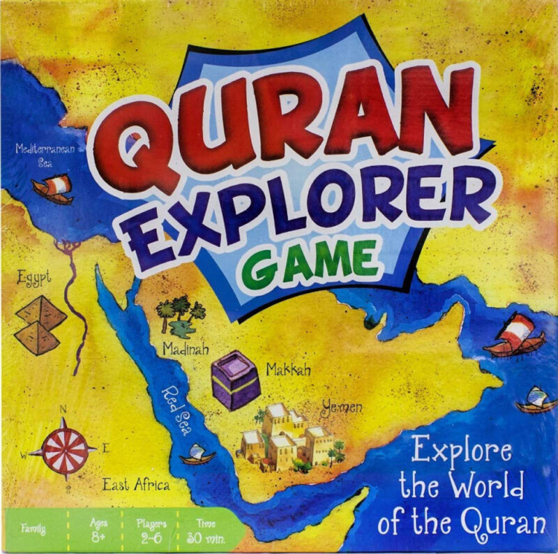 Quran Explorer Game for family and friends!
