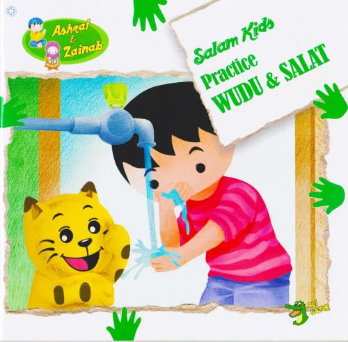 Practice Wudu & Salat: Salam Kids - Ashraf & Zainab - Reesh | Kiddies Book Store