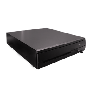 Black Cash Drawer with Printer Kick - Reesh| I.T Store